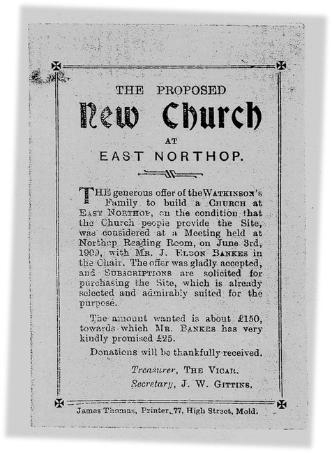 Frontispiece New Church East Northop